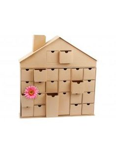 Storage House of Boxes kraft papier natural brown - Present Time