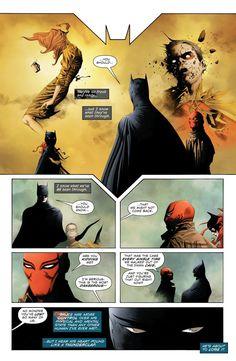 Batman/Superman: Annual 1 Page 15 Batman Red Hood, Batman And Superman, Batman Robin, Marvel Dc Comics, Batman Stuff, Batwoman, Nightwing, Batman Universe, Dc Universe