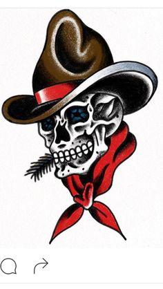 0cdd5d4f246 32 Best Cowboy Tattoos images