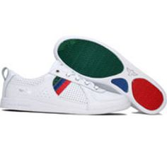 Creative Recreation Womens Galow (white / red / blue / green / cr) WCR7518-WRBGC - $94.99