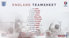 England team vs Wales