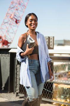 Pin for Later: 10 neue Outfits, die jede Frau in diesem Frühjahr unbedingt ausprobieren sollte BH-Tops