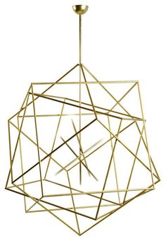 Hubert le Gall Polyedres light fixture