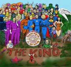 """The Beatles, """"Sgt. Pepper's Lonely Hearts Club Band"""" + Fantastic Four 