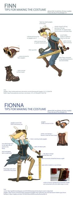 #AdventureTime SteamPunk #Tutorial http://micaella.tumblr.com/post/26827378018/hey-tozoku-hope-this-is-helpful-for-you-and