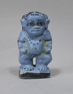 Beset, Goddess of domestic Protection, wife of Bes. Middle Kingdom. Dynasty 12-13. ca. 1981-1640 BCE. Egypt. Faience. http://www.metmuseum.org/Collections/search-the-collections/100014339