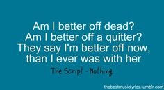 Nothing - The Script. ❤