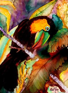 Tu Can Toucan Painting by Lil Taylor - Tu Can Toucan Fine Art Prints and Posters for Sale
