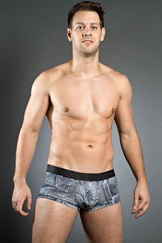 HOM Black Addict Jeans Trunk £24 #new #denim #mensstyle #hom #deadgoodundies