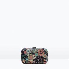 Image 1 of BOX CLUTCH from Zara