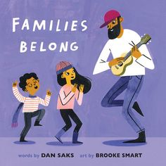 This deliciously warm board book is an appreciation of the unconditional love and comfort shared within a family. Through a handful of specific yet universal scenarios, from singing songs together to sharing food together, from dancing together to lying still together, this book invites the youngest readers to celebrate what it means for a family to be truly together. #kidsbook #boardbook #family #love #music #food #dance Book Club Books, New Books, Families Belong Together, Emotional Child, Toddler Age, What Book, Two Daughters, Songs To Sing, Early Childhood Education