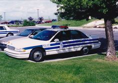 1991 Chevrolet Caprice (91B 148) - United States Air Force (USAF) Security Police, Fairchild AFB, WA.