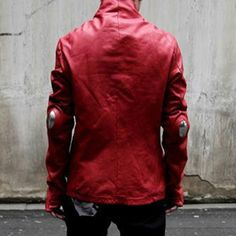 2016 Real <font><b>Top</b></font> Full Titanium Alloy Washing Old Leather Garments Slim Motorcycle For Concept Of Science And Technology