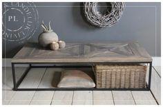 Maatwerk / salontafel / PERFECTLY / old wood kerkdriel vanaf 400 eu Belgian Style, Old Wood, Rustic Chic, Interior Inspiration, Sweet Home, Living Room, Furniture, Color, Home Decor