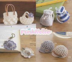 Miniature Crochet n3554 - Japanese Craft Book