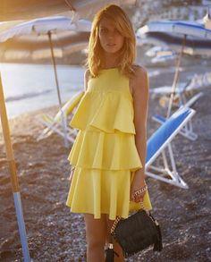 Little Yellow Dress great summer fashion