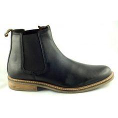 Barbour Farsley Chelsea Boot, schwarz