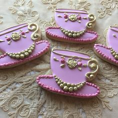 Penny's Custom Cookies are specially tailored to each order & created from scratch using only the finest quality ingredients. Shortbread Cookies, Sugar Cookies, Vintage Theme, Custom Cookies, Birthday Bash, Cakes And More, Brooch, Mudroom, Tea Time