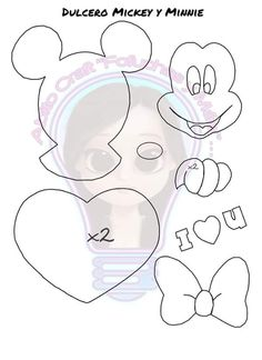 Mickey Y Minnie, Symbols, Letters, Children, Art, Plants, Young Children, Art Background, Boys