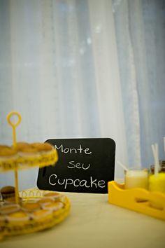 Monte seu cupcake!!! - Lápis de Noiva
