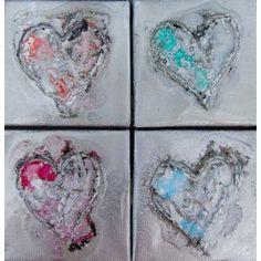 Mini Hearts 4 (Glossy)