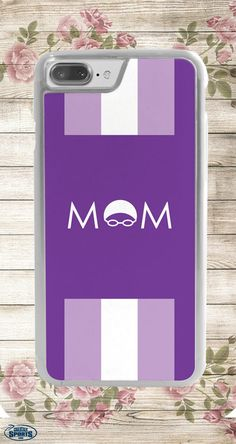 Treat your swim mom to a gift that she'll love and use everyday for Mother's Day! Our iPhone cases for swim moms are the best gift!