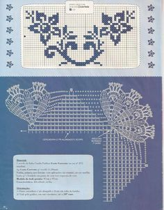 Crochet edging .. #inspiration_crochet_diy GB ...