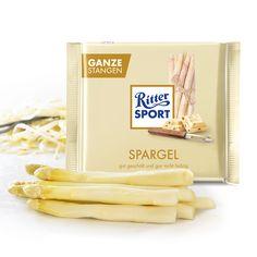 Ritter Sport, Bread, Food, Asparagus, Schokolade, Breads, Bakeries, Meals