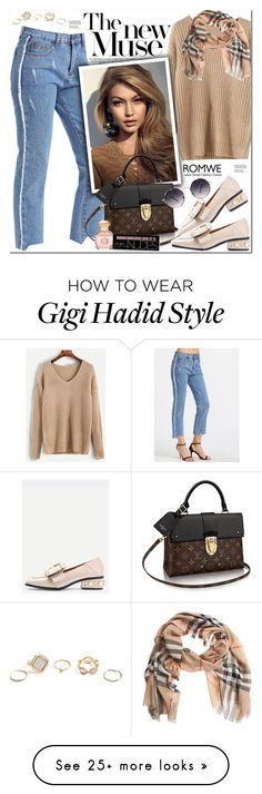 """""""Romwe"""" by oshint on Polyvore featuring Spitfire, Tory Burch, Charlotte Russe, Burberry, GUESS, awesome, amazing, cool, romwe and fabulous"""
