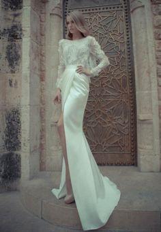 modern wedding dress | Divine