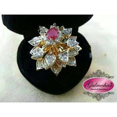 Moveable Floral Ring Design Code: E-46 in Pakistan | Kaymu.pk