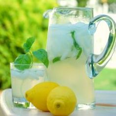 Italian Honey Basil Lemonade