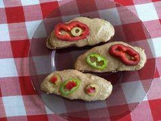Vöröslencse krém vagy mártogatós Crackers, Sushi, Dips, Japanese, Cookies, Spreads, Ethnic Recipes, Desserts, Food