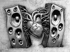 There's love in the speakers #edm #rave #intotheam