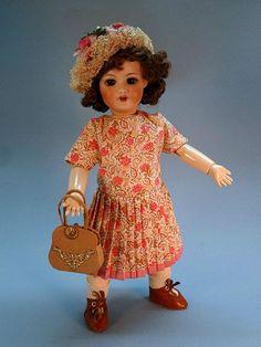 BLEUETTE Dress and Hat GL - FLORE 1924 ~Tres Belle Poupee ~
