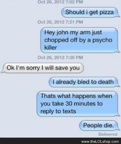 People die...... Ahahahahaha This is hilarious!!!