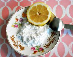 Pasta de limón.  Exfoliante natural para tu piel.