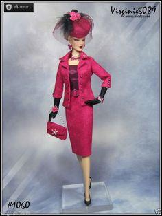 Tenue Outfit Accessoires Pour Fashion Royalty Barbie Silkstone Vintage 1060 | eBay