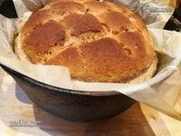 gluténmentes rusztikus kenyér recept