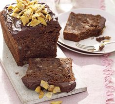 Just one look at this chocolate and banana treat is enough to know it won't stay in the cake tin for long