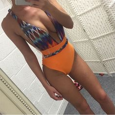 7b5694b2ab Backless Halter One-piece Swimsuit 🔥 - $34.95 - stay in style and get the