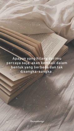 Quotes Rindu, Tumblr Quotes, Text Quotes, Mood Quotes, Life Quotes, Reminder Quotes, Self Reminder, Cinta Quotes, Religion Quotes