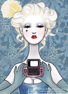 J.David McKenney, Fashion Illustrator.