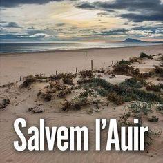 Per la declaració de la platja de l'Auir Espai Natural Protegit