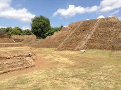 Zona Arqueológica Tinganio en Tingambato, Michoacán