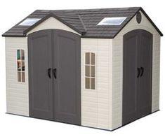 Garden Sheds Vinyl duramax sheds woodside 10x8 vinyl shed w/ floor kit | grinnell