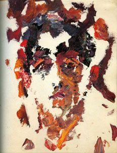Анатолий Зверев Г.Д.Костаки. 1959. Картон, масло. 49х34. Собрание Г.Костаки, Афины.