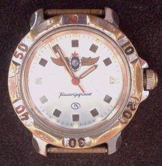 "Rare Vintage Russian"" Wostok"" watch commander diver 10 m. #Wostok"