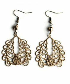 Sheer Addiction Jewelry - Brock earrings