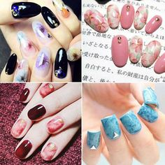 1Pc Rhinestone Nail Art UV Gel Painting Touch Screen Brush Pen Manicure Tool